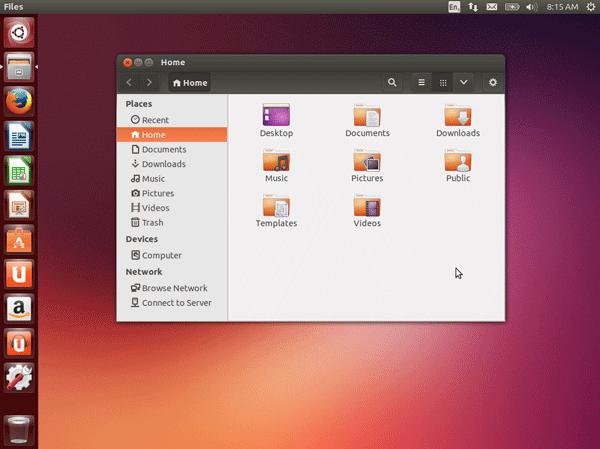 Linux Ubuntu image
