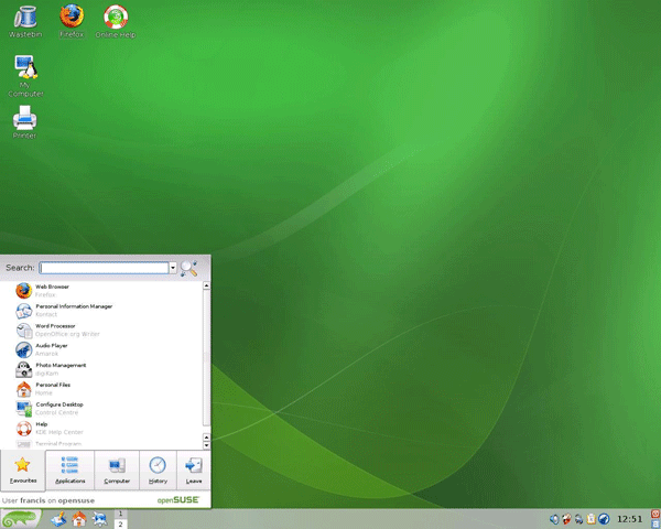 SUSE Linux image